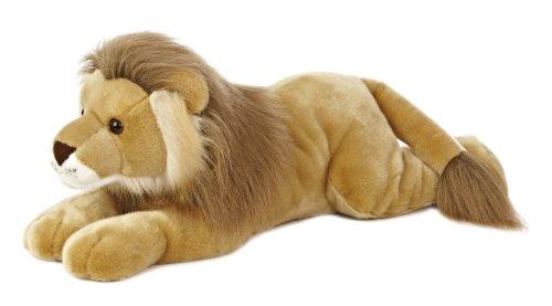"""Aurora World Super Flopsie Leo Lion Plush, 27"""" Long"""