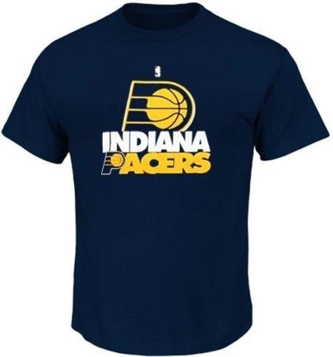 インディアナペイサーズNBAマジェスティックチームTシャツネイビーブルービッグサイズ 4L  B00V8WX45W