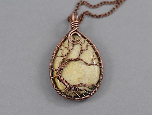 Fossil Coral Pendant (2