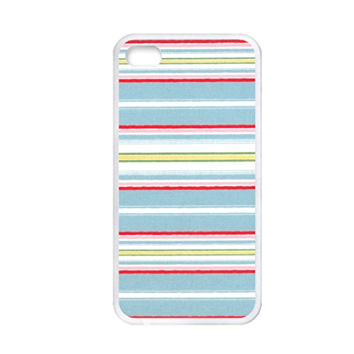 Tyboo Pc Case Safeguard For Apple Iphone 4S 4 Th Have Chevron Wavy Shape Girl