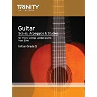 Guitar & Plectrum Guitar Scales & Exercises Initial-Grade 5 from 2016