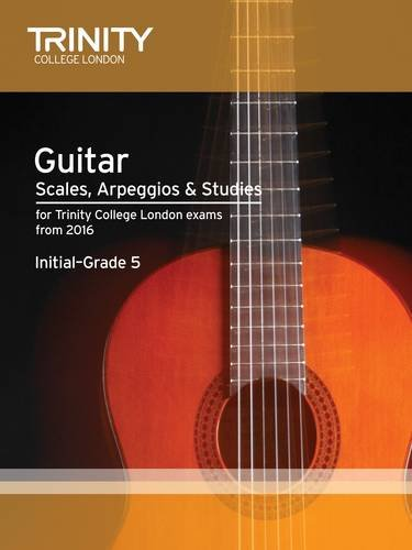 Guitar Scales Initial-Grade 5 from 2016