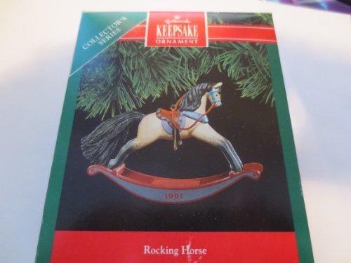 1991 Rocking Horse Hallmark Keepsake Ornament. Rocking Horse Keepsake