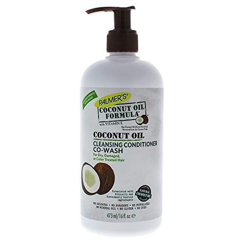 Palmer's Coconut Oil Cleansing Conditioner Co-Wash for Unisex, 16 Ounce