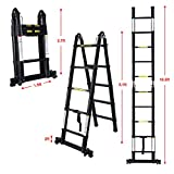 Telescoping Extension Ladder,A-Frame