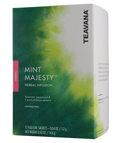 Starbucks Teavana - Herbal Tea - Mint Majesty - 12 Sachets