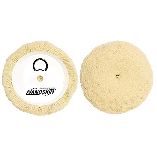 S.M. Arnold 7.5″ 100% Twisted 4-Ply Wool Compounding & Buffing Pad [NAA-WCBP1]