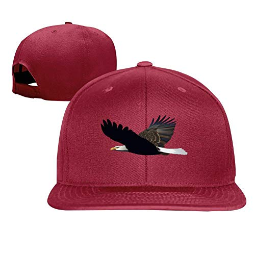 - Flying Wings Flying Eagle Trendy Men and Women General Truck Drivers Hip-Hop Baseball Caps Red