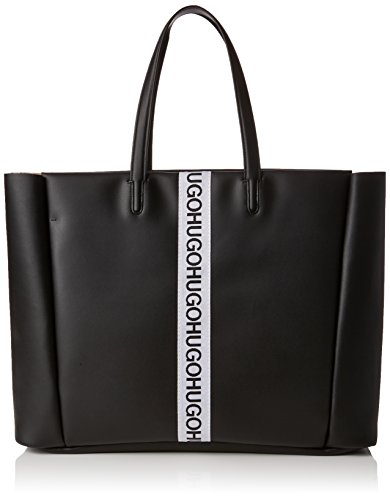 HUGO Damen Kingston Tote Schultertasche, Schwarz (Black), 16x35x57 cm