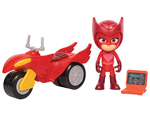 (PJ Masks Super Moon Rovers Owlette Toy, Red)