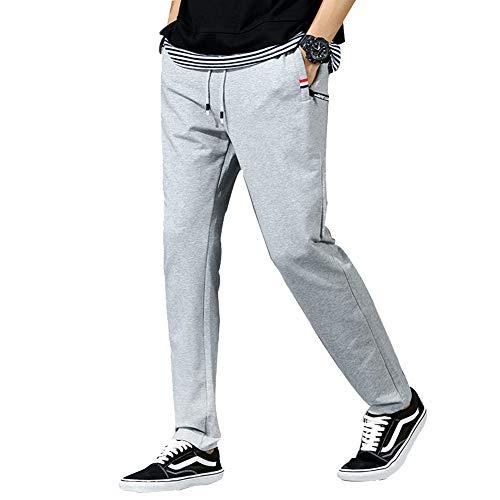 Pantalon Clair Gris Pantalons Avec Hommes Shifan Élastique Jogging Poids De Léger Pour Poches Des Survêtement 0aZqwB