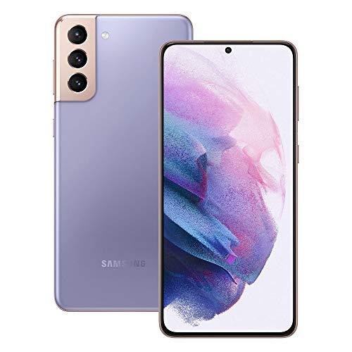 Samsung Galaxy S21+ 5G Smartphone SIM Free Android Mobile Phone Phantom Violet 128GB, (UK Version)