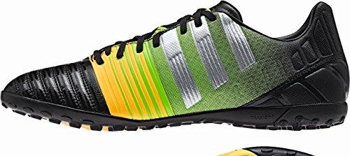 Adidas Nitrocharge 3.0 Tf - Zapatillas de fútbol para hombre - negro / plateado