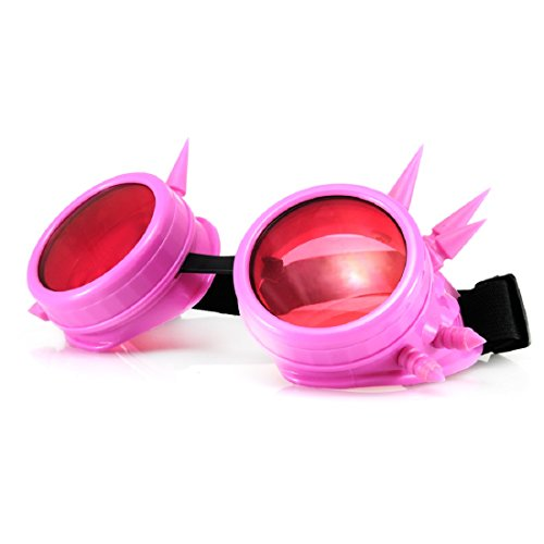 Goggles nbsp;– Copper Cyber estilo 6 nbsp;Gafas Rosa Steam vintage Antique number gótico Punk Vintage Rave 4sold TM Goth Victorian medium wTqYPIRRX