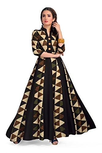 MT Womens long maxi style kurti dress -