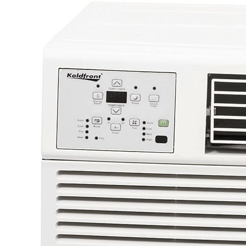 Koldfront wac12001w 12 000 btu 220v heat cool window air for 12000 btu ac heater window unit