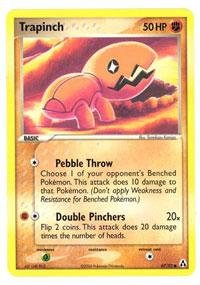 67) - EX Legend Maker (Trapinch Common Card)