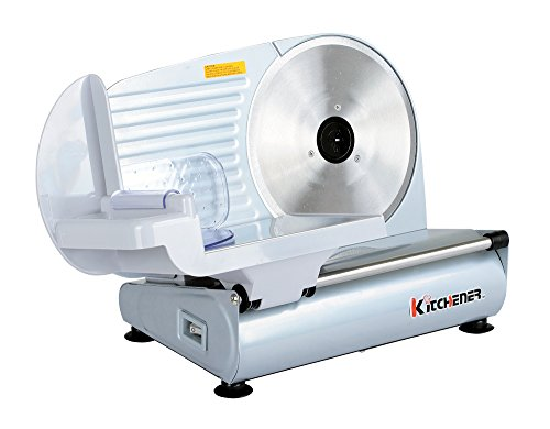 Kitchener 9-inch Professional Electric Meat Deli Cheese Food Slicer, Stainless Steel Blade, 150 Watt by Kitchener (Image #2)
