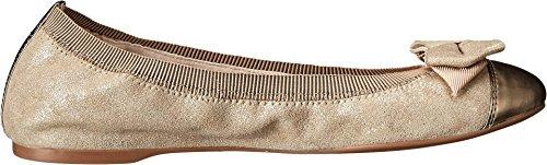 Cole Haan Donna Cortland Dettaglio Balletto Ii Acero Zucchero / Oro Metallizzato