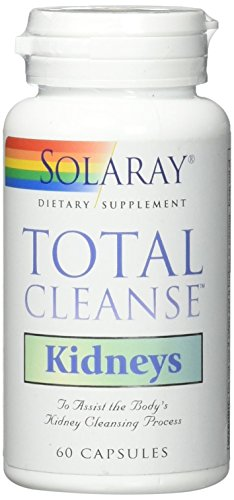 Solaray Total Cleanse Kidneys Capsules, 60 Count