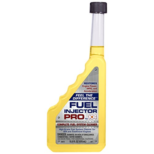 - Fuel Injector Cleaner Complete System Cleaning Fluid Additive for Carburetor Engine Gas Line & More. Works with Car, Lawn Mower to Increase Power, Efficiency and Economy Boosting Stabilizer. 104+