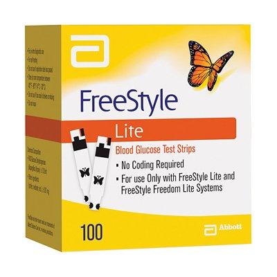 Freestyle Lite Test Strips (100 Strips)