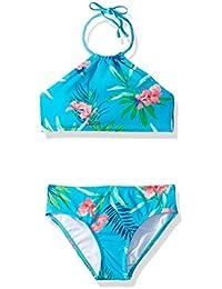 29266451e2 Girls' Mahina Beach Sport Halter Bikini 2-Piece Swimsuit