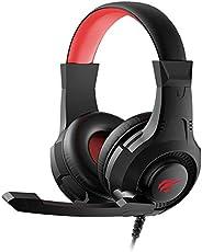 Fone de Ouvido Headphone Gamer Havit H2031d E-Sports Com Iluminação e Microfone