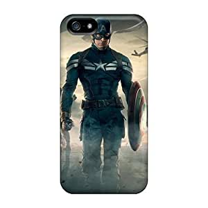 New Style YmNAP5504EIlDc Captain America The Winter Soldier Movie Compatible With For HTC One M7 Phone Case Cover Protection Case