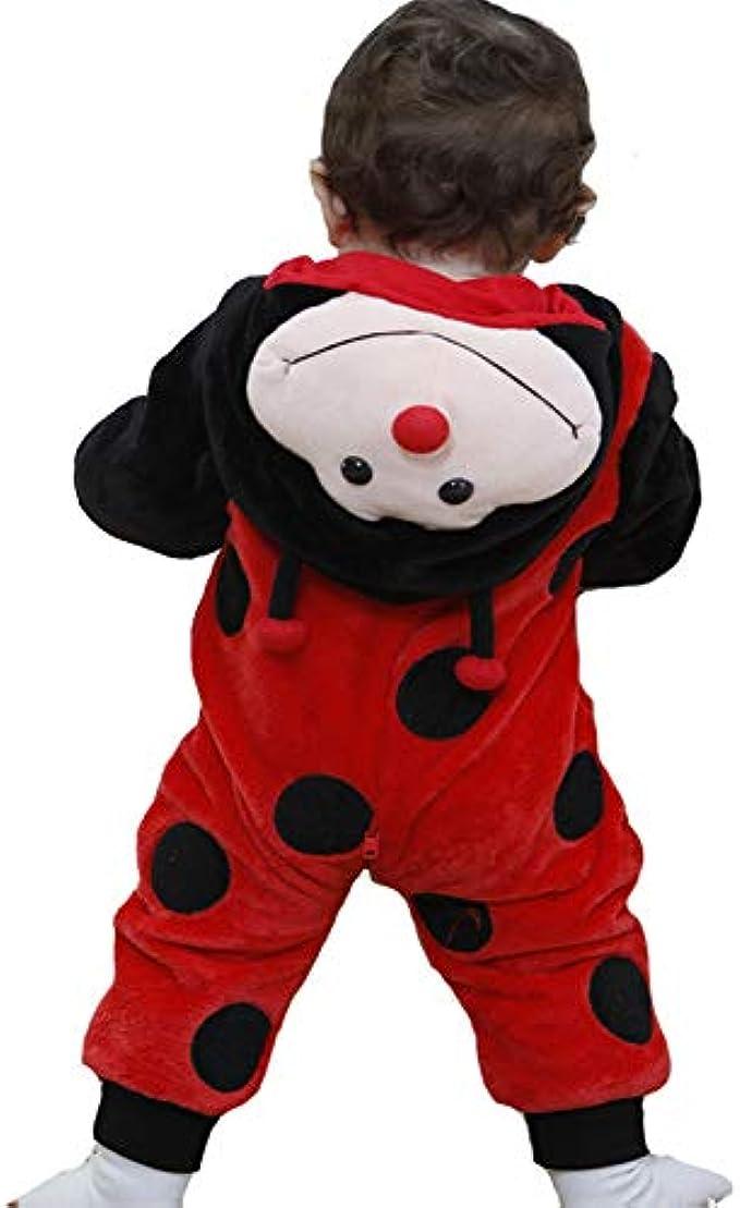 Tonwhar Unisex-Baby Animal Onesie Costume Cartoon Animal Outfit Homewear Baby One-Piece Rompers