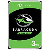 Seagate BarraCuda 3TB Internal Hard Drive HDD – 3.5 Inch SATA 6 Gb/s 7200 RPM 64MB Cache for Computer Desktop PC (ST3000DM008)