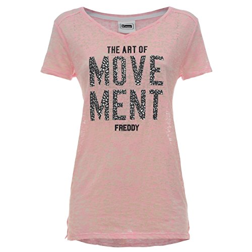 FREDDY T Donna Shirt S7wct1 Nero rqwCH45rT