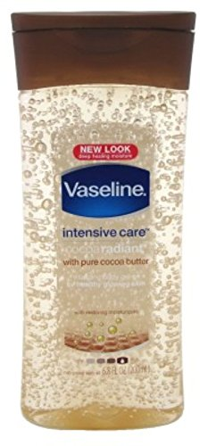 Vaseline Intensive Care Cocoa Radiant Gel Oil 6.8oz