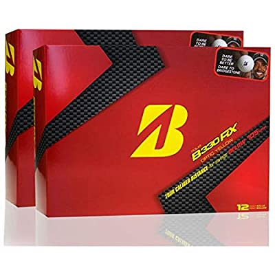 Bridgestone Tour B330-RX Yellow Double Dozen Golf Balls