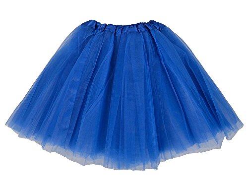 Davikey Women 3-layered Ballet Tutu Skirt, Tulle Fibers &Classic Elastic Dark Purple (Dillards Robes)