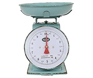 Beekman 1802 FarmHouse Freemont Metal Household Scale - Turquoise