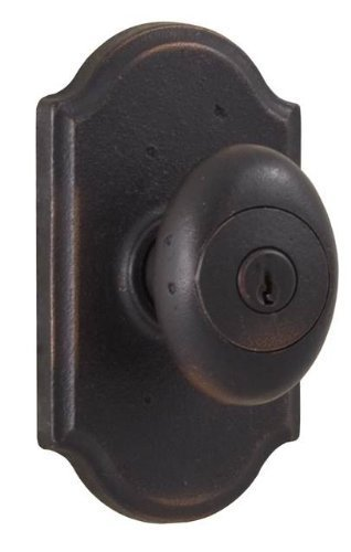 Weslock 07140M1M1SL23 Durham Premiere Entry Lock with Adjustable Backset and Full Lip Strike Oil Rubbed Bronze Finish