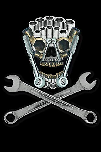 Tool Skull: Blank Lined Notebook, Journal or Diary