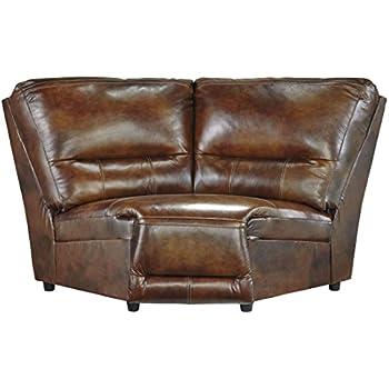 Merveilleux Ashley Furniture Signature Design   Jayron Wedge Sofa   1 Seat    Contemporary   Harness Brown