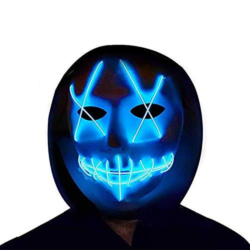 Halloween Masks LED Masks Light Up Masks Men's Women Kids Costume Masks