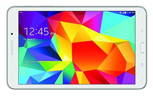 Samsung Galaxy Tab 4 4G LTE Tablet, White 8-Inch 16GB (AT&T)