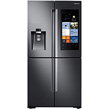 RF22K9581SG Counter Depth French Door Family Hub WiFi Refrigerator With  22.1 Cu. Ft. Total