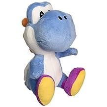 Little Buddy Super Mario Bros 6-Inches Dark Blue Yoshi Stuffed Plush