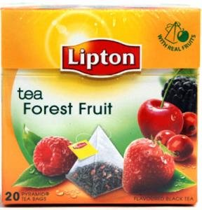 Lipton Black Tea - Forest Fruit - Premium - Lipton Premium Tea Bags