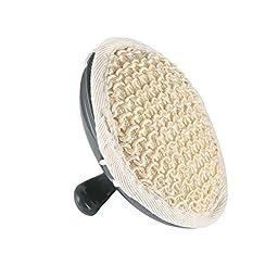MARNUR Scalp Massager Shampoo Brush Electric Vibration, 3 Interchangeable Nodes and 2 Free Batteries