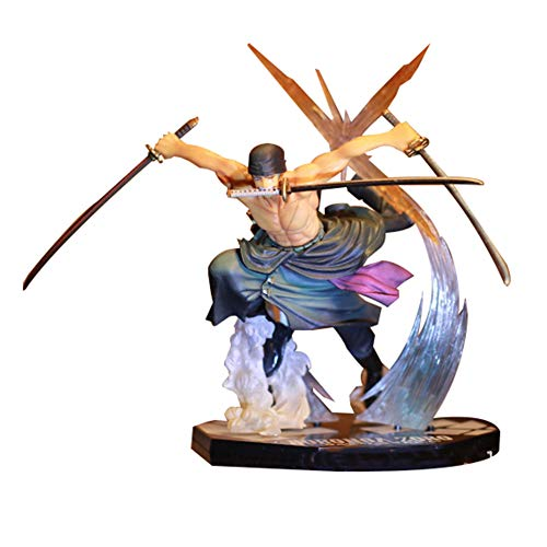 Raleighsee Anime One Piece Series 2 Years Later New World Straw Hat Legion Boxed Doll Model PVC Figure / Vinyl Figure / Action Figure / Collectible Figurine( Zoro)