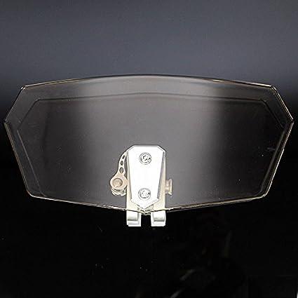 XX eCommerce R 1200 GS R 1200 RT F 800 GS Clip Regolabile sul Parabrezza Spoiler di Estensione per B-M-W R1200GS R1200RT F800GS Chiaro