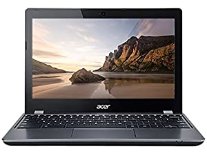 Acer C740 Chromebook Intel Celeron 3205U (1.50 GHz) 4 GB Memory 16 GB SSD SSD 11.6' Chrome OS With Thinkmax (R) Special Card