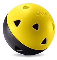 Constructed with proprietary pop-back material similar to the material used to make car bumpers, SKLZ Impact Baseballs keep their shape and won't crack like standard practice balls—even after thousands of swings. Built to provide instant feed...