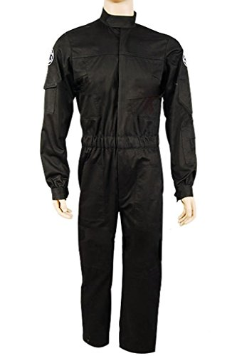 UU-Style Imperial Fighter Pilot Uniform Flight Suit Cosplay Costume Outfit